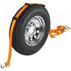 Sangle d'arrimage de roues Avec Trois protection 1.900KG - 35MM